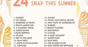24 photos you need to snap this summer