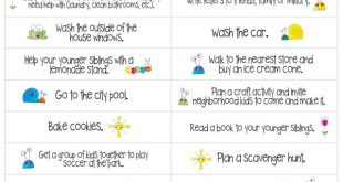 Summer Boredom Busters for Teens