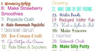 June Activity Planner for Kids (& Free Printable