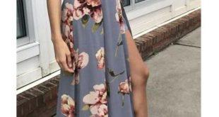 Pretty Off The Shoulder Einfache Günstige Blumenmuster Prom Dresses Z0958 - #Bl...