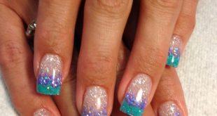 Blingy summer nails ♥