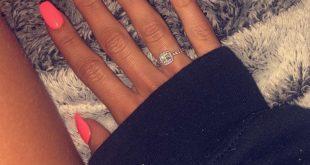 Bright summer nail color #Nails #Acrylics #BrightSummerNails - #Acrylics #Bright...