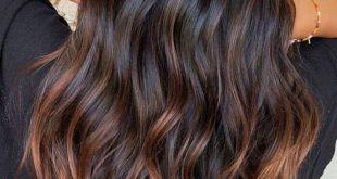 Die schönsten Haarfarben-Trends für braune Haare im Winter 2018