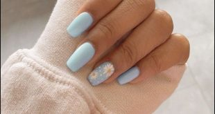 91+ simple short acrylic summer nails designs for 2019 - page 13
