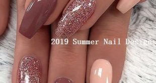 33 Cute Summer Nail Design Ideas 2019 #summernaildesigns #nail