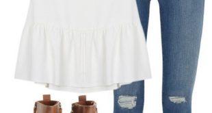 45 schöne adrette lässige Sommer-Outfits für die Schule - #adrette #casual #d...