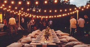 46 Cozy Backyard Wedding Decor Ideas For Summer