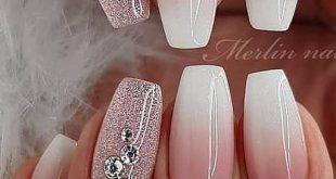 53+ süße und erstaunliche Ombre Nails Design-Ideen für den Sommer Teil 13