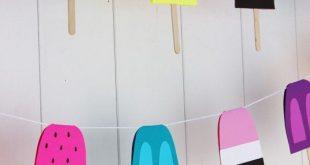 Bring mit dieser Sommerdeko Farbe in dein Heim! DIY Dekoideen