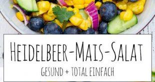 Heidelbeer-Mais-Salat