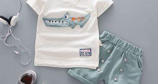 Kaufen Cartoon Baumwolle Sommer Kleidung Sets für Neugeborenes Baby Infant Mode...