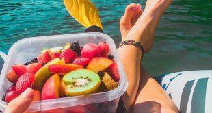 Mit frischen Früchten den Fluss hinunter treiben! Geht es noch besser