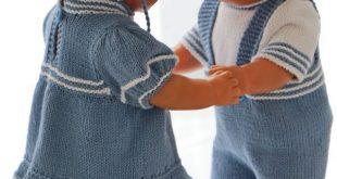 Strickanleitung für Puppenkleider - Schöne Sommerkleidung für Ihre Puppe