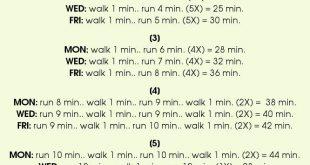 Wie man anfängt zu laufen, Fitness, Gewichtsverlust, Walker, Gesundheit
